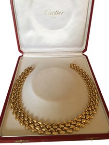 Cartier Carier Panthere Link Collar Neclace.