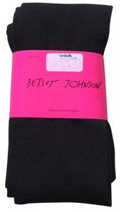 Betsey Johnson Black Leggings