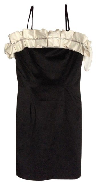 Preload https://img-static.tradesy.com/item/1368134/black-with-off-white-above-knee-cocktail-dress-size-4-s-0-0-650-650.jpg