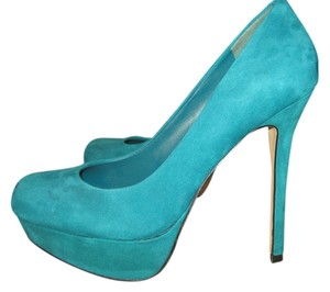 Bakers green/torquise Pumps