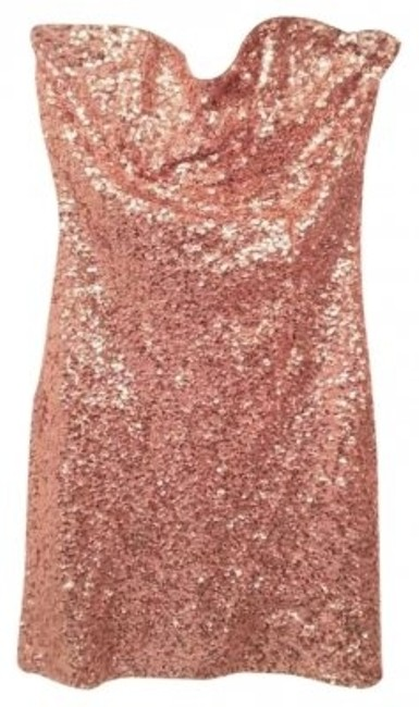 Preload https://item1.tradesy.com/images/forever-21-gold-sequin-strapless-above-knee-night-out-dress-size-4-s-136815-0-0.jpg?width=400&height=650