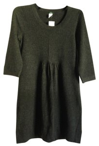 J.Crew short dress Charcoal Grey on Tradesy