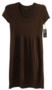 INC International Concepts short dress Chocolate Brown on Tradesy