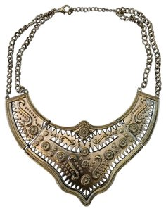 H&M Gold Plated Egyptian Necklace