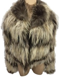 Fendi Rare Fox Fur Runway Karl Lagerfeld Fur Coat