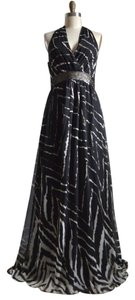 Black White Maxi Dress by American Vintage Halter Evening Tuxedo Little Maxi