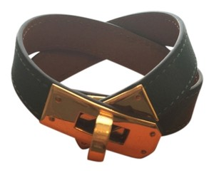 Herms Hermes Kelly Double Tour Wrap Bracelet
