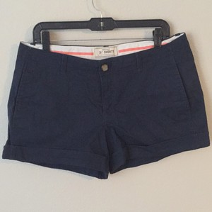 Old Navy Cuffed Shorts Navy Blue