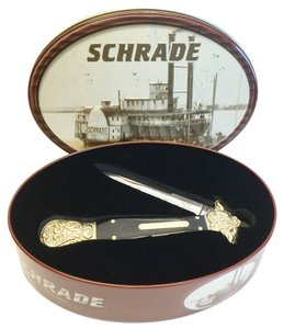Other Schrade Dirk Buffalo Horn Pocketknife [ BradysPlace ]