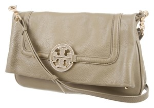 Tory Burch Gold Hardware Amanda Foldover Shoulder Bag