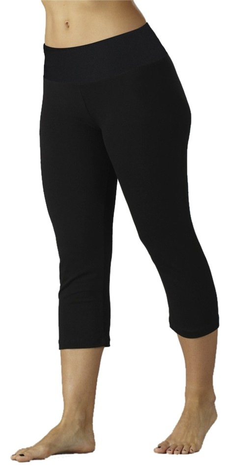 434f0dc63ffc7 Balance Collection by Marika Shaper Control Cropped Leggings Tummy Small  Tummy-control Capris BLACK Image