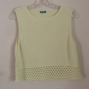United Colors of Benetton Top Light yellow