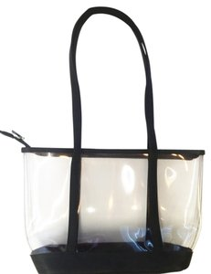 Tote in Transparent & Black