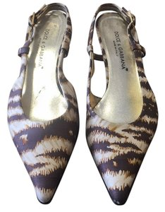 Dolce&Gabbana Brown/beige Pumps