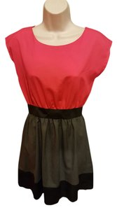 BeBop short dress Red and Black on Tradesy
