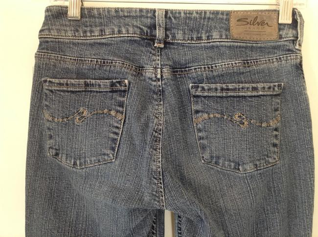 Silver Jeans Co. Canada Designer Boot Cut Jeans-Distressed
