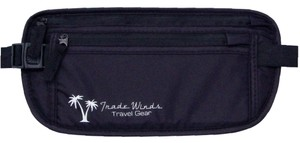 Trade Winds Travel Gear Gym Durable Wallet Black Travel Bag