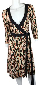 Diane von Furstenberg short dress Multi Dvf Printed Dvf Def Wrap on Tradesy