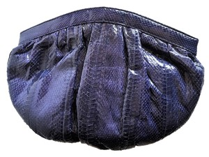Jasmin Dark Blue Clutch