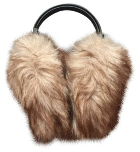Muji Free Ship Brand New Adjustable Size Furry Earmuffs