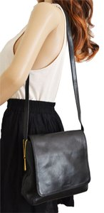 Nine West Leather Adjustable Strap Cross Body Bag