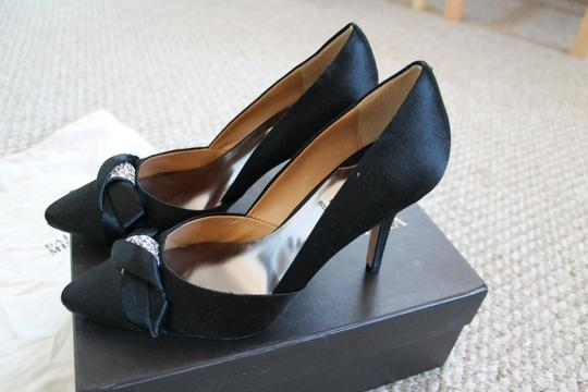 Badgley Mischka Wedding Fall Winter black Pumps