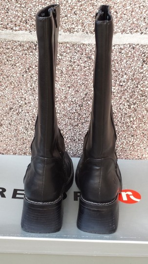 Report Signature Midcalf Fall Winter Spring Black Boots