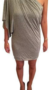 Cut25 short dress Light grey on Tradesy
