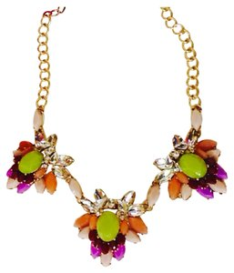 J.Crew Floral Clusters Necklace