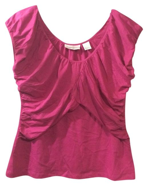 Preload https://img-static.tradesy.com/item/13686283/chadwicks-bright-pink-blouse-size-14-l-0-1-650-650.jpg