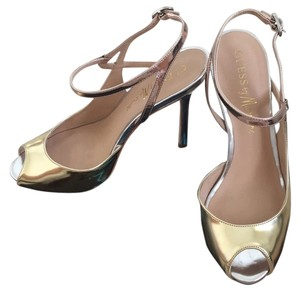 Marciano Gold/silver/rose gold Pumps
