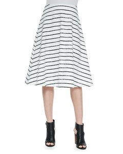 Elizabeth and James Dvf Zimmermann Black Halo Alice + Olivia Rebecca Taylor Skirt White