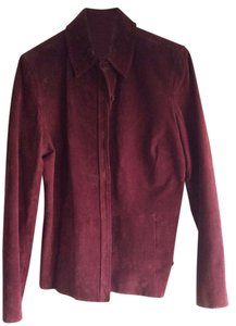 Caslon Wine Leather Jacket