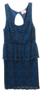 Pins and Needles Peplum Urban Outfitters Lace Dress