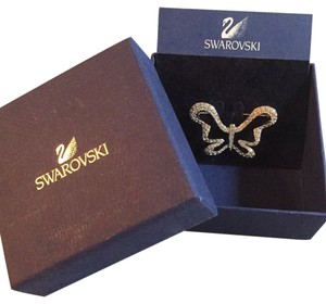 Swarovski Brand New Butterfly Broach