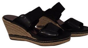Etienne Aigner Black Sandals