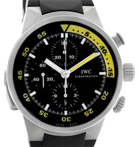 IWC IWC Aquatimer Split Minute Chronograph Titanium Watch IW372304 Unworn