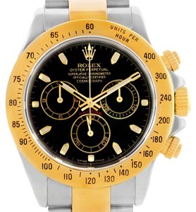Rolex Rolex Cosmograph Daytona Steel 18K Yellow Gold Watch 116523 Unworn