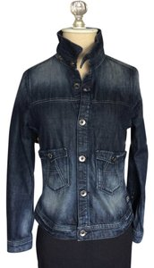 G-Star RAW Jean Indigo Denim Womens Jean Jacket