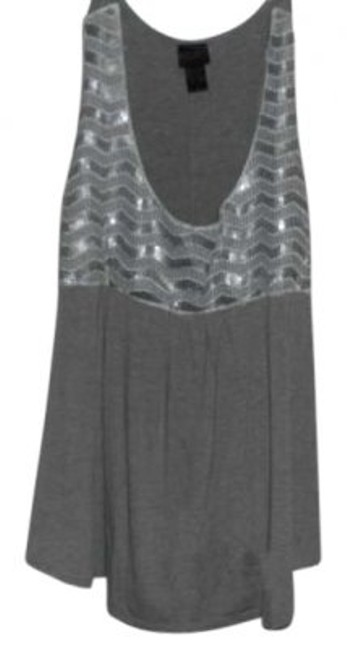 Torrid Top grey/white