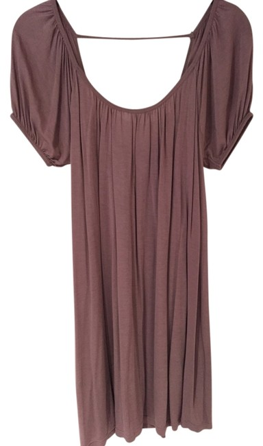 Item - Taupe Rose Knit Rayon Cover-up/Sarong Size 8 (M)