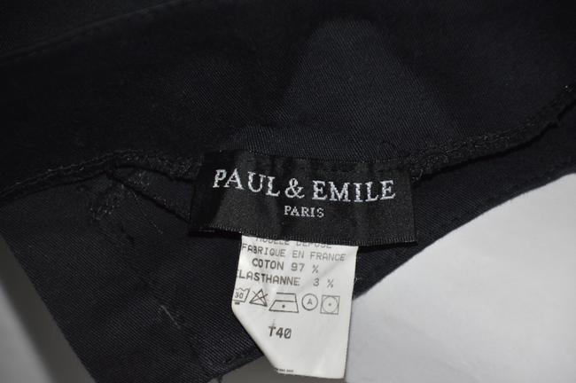 Paul & Emile Straight Pants Black