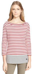 Burberry Brit Stripe Boatneck Nautical Summer Sweater