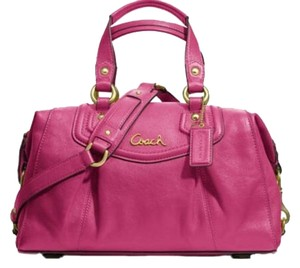 Coach Like New Condition Satchel in Pink