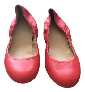 J.Crew Red/Coral Flats