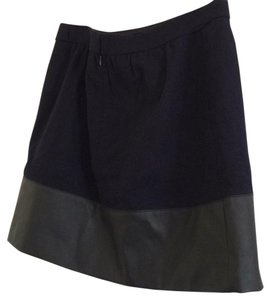 J.Crew Mini Skirt Navy/black