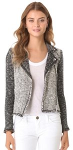Rebecca Taylor Tweed Moto Motorcycle Jacket