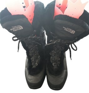 The North Face Winter Down Black Boots