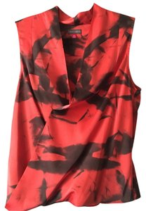 Vince Camuto Top Red / Black