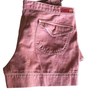 AG Adriano Goldschmied Mini/Short Shorts Brick red